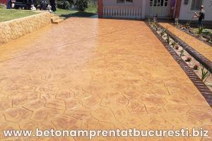 beton amprentat targoviste 1