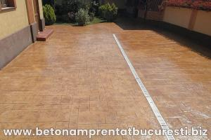 beton amprentat targoviste 3