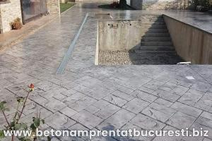 beton amprentat targoviste 6
